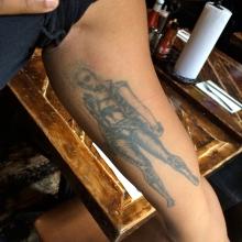 Robyn's Storm Tattoo