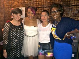 Rachel, Jamila, Jessica & Sammus